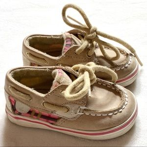 Sperry top sider baby girl shoes